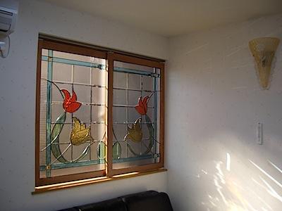 室内窓の採光