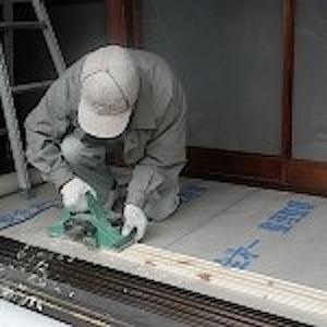 調整下地板加工