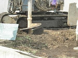 寒川町「S」様の地盤改良工事をしました。 柱状改良工事で杭(φ600:直径60センチ)を27本を支持層まで打ちます。 ーーーーーーーーーーーーーーーーーーーーーーーーーーーーーーーーーーーーーーーーーーーー 杭の柱頭高さ […]