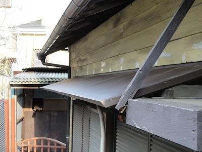 霧除け屋根の交換4
