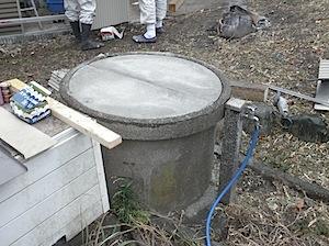 コンクリート製井戸フタ2