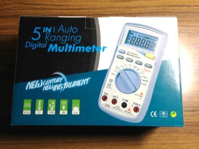 騒音、湿度、温度も一緒に測れるデジタルマルチメーター