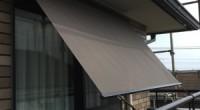西面の窓の陽当たりが厳しいので、日除けを付けたいと言うことで鎌倉市の「O」様から 不要な時には引き込めるサンシェードのご依頼を受けました。 「O」様邸に運良くバルコニー手摺棒が有りましたので、控えを取りやすかったのが幸 […]